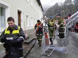 Dach Höck von Schnee befreien 17.02.2006